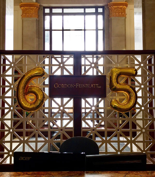Gordon Feinblatt Celebrates 65 Years
