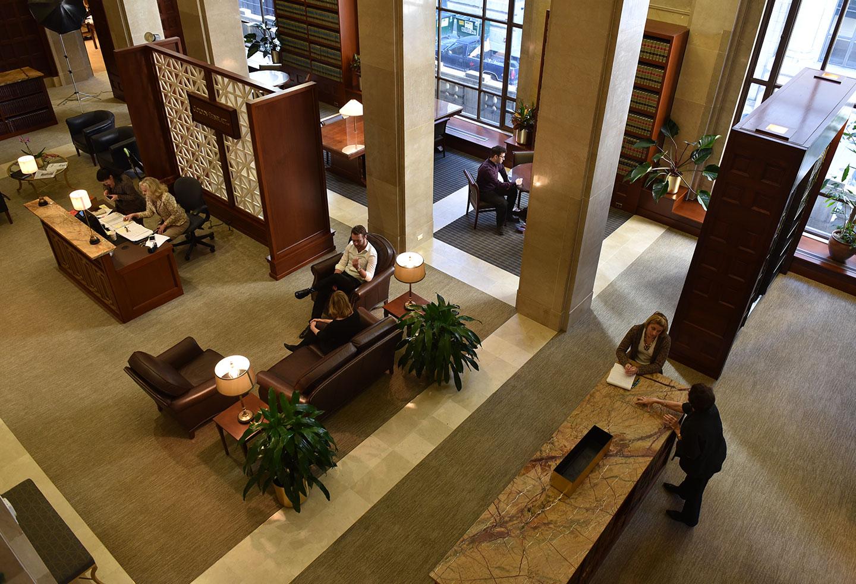2nd Floor Reception Space