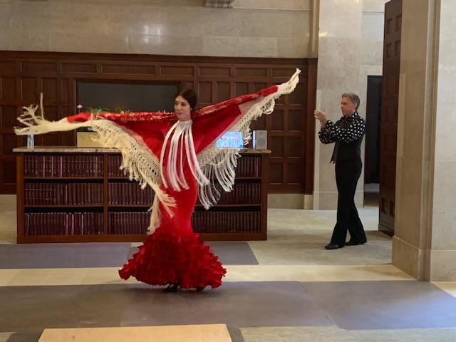 Flamenco Dancer at GF Hispanic Heritage Month