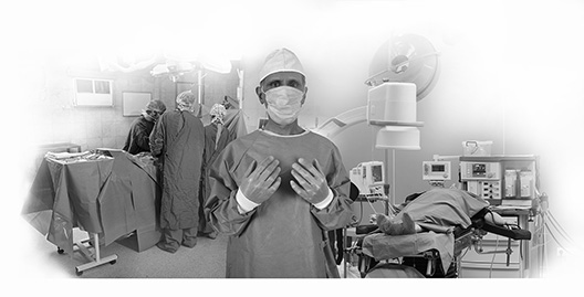 Image of one doctor at a Two Room Ambulatory Surgery Center